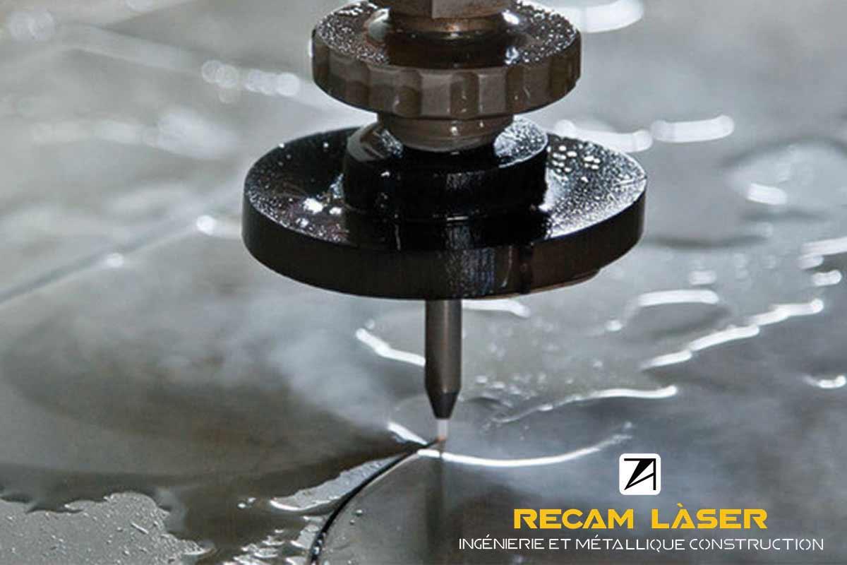 Decoupe au jet d eau Recam Laser