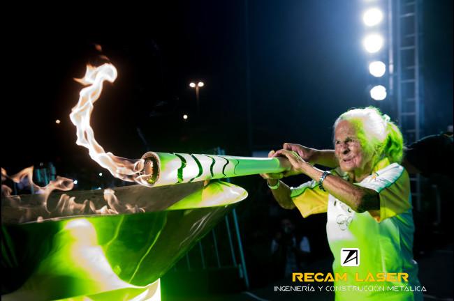 Empresa fabricante de las antorchas olímpicas de Rio 2016