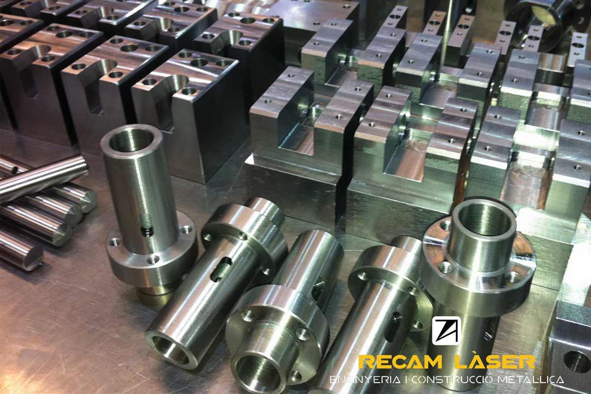 Mecanitzat CNC Recam Làser